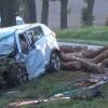 Powiat Sztumski: Tragiczne zderzenie z ciężarówką. Kierowca samochodu osobowego nie żyje – 28.09.2017