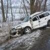 Nowy Dwór - Marzęcino: Rozbili auto i uciekli w pola. - 14.02.2018