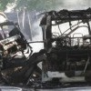 16 osób poszkodowanych, 5 osób w szpitalu. Zderzenie autobusu z TIR-em.