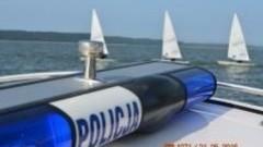 Nowy Dwór Gd. Policjanci dbali o bezpieczeństwo w czasie regat w Krynicy Morskiej - 23.05.2016