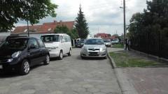 Mistrz(nie tylko)parkowania zablokował ruch na Pionierów w Malborku? - 22.05.2016