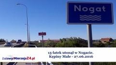Kępiny Małe. 15-latek utonął w Nogacie - 27.06.2016
