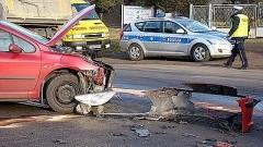 Elbląg/Bielica. Kierowca ciężarówki na podwójnym gazie sprawcą kolizji – 17.08.2016