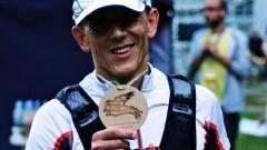 Zadebiutował na dystansie 100km. Maciej Frankiewicz, zawodnik Grupy Malbork po trudnym terenie w biegu ultra na Pomorzu - 17.09.2016