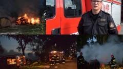 Pożary balotów słomy. Straż Pożarna podsumowuje ubiegły tydzień w powiecie nowodworskim – 21.09.2016