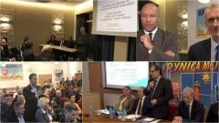 Krynica Morska mówi nie, Sztutowo na tak. Minister Gróbarczyk spotkał się z mieszkańcami na Mierzei w sprawie przekopu – 25.11.2016