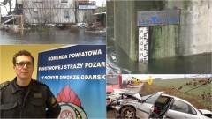 Wypadek w Myszewku. Cofka. Brak prądu. Straż Pożarna podsumowuje ubiegły tydzień w powiecie nowodworskim - 01.12.2016