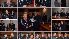 Nowy Dwór Gd. Strażacy ochotnicy z powiatu nowodworskiego spotkali się na wspólnej Wigilii - 09.12.2016