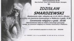 Zmarł Zdzisław Smardzewski. Żył 83 lata.