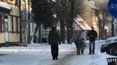 Nowy Dwór Gd. Utrzymanie zimowe dróg i chodników - 10.01.2017
