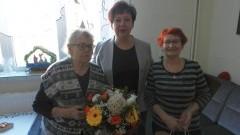 Stegna. Jubileusz 99 urodzin Salomei Glinieckiej - 12.01.2017