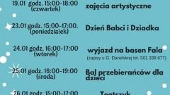 """Jantar. Dziś początek zabawy. """"Feryjna strefa zabaw"""" w Jantarowej Przystani- 17.01.2017"""