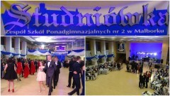 Studniówka II LO w Malborku. Tak uczniowie bawili się na 100 dni przed maturą - 11.02.2017
