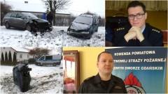 Znów wypadki w Orłowie. Mianowanie komendanta. Podsumowanie nowodworskiej Straży Pożarnej - 16.02.2017