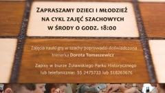 """Żuławski Park Historyczny zaprasza dzieci do Klubu szachowego """"Szach-Mat"""" - 1.03.2017"""