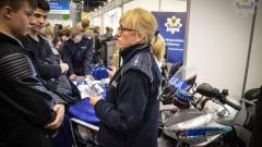 Policjanci z Komendy Wojewódzkiej Policji w Gdańsku uczestniczyli w Metropolitarnych Targach Pracy Pomorza.- 02.03.2017