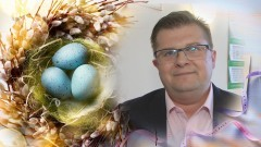 Życzenia Wielkanocne składa Wójt Gminy Ostaszewo, Michał Chrząszcz