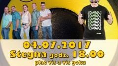 """Stegna. Zapraszamy na Galę Disco! Gwiazdą wieczoru będzie """"Gesek"""" - 04.07.2017"""
