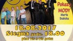 """Stegna: Zapraszamy na Galę Disco! Gwiazdą wieczoru będzie """"Andre"""" - 18.08.2017"""