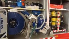 Strażacy ćwiczyli techniki ratowania powodzian w Sztutowskiej Kępie 20.06.2017