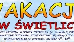 Nowy Dwór Gdański. Świetlica zaprasza dzieci na wakacje - 03.07 - 31.08.2017