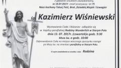 Zmarł Kazimierz Wiśniewski. Żył 75 lat