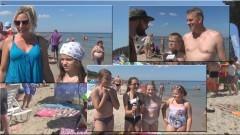 Projekt Plaża. Sztutowo. Pytamy z kamerą jak wam się podoba - 01.08.2017