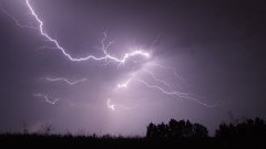 Nocna burza 1/2 sierpnia, 14 wyjazdów nowodworskiej Straży Pożarnej - 02.08.2017