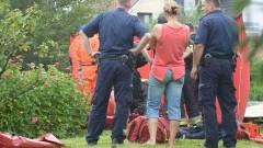 Mężczyzna utonął w Tudze, po tym jak wskoczył do niej, uciekając - 02.08.2017