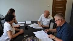 Nowy Dwór Gdański : Podpisano umowę na budowę ul. Lawendowej - 03.08.2017