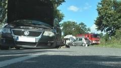 Nowa Wieś Malborska. Trzy kobiety poszkodowane. Zderzenie dwóch samochodów - 05.08.2017