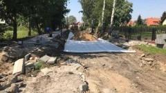 Nowy Dwór Gdański : Rozpoczął się remont ul. Szkolnej - 09.08.2017