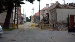 Nowy Dwór Gd.:Zawalił się dom na ul. Kopernika. -13.08.2017