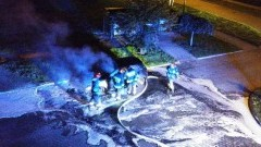 Malbork: Samozapłon czy podpalenie? Tajemniczy pożar golfa - 18.08.2017