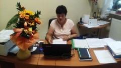 Stegna: Spontaniczne życzenia dla pani dyrektor Renaty Cichosz - 30.08.2017