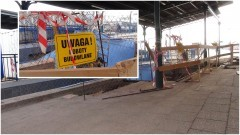 Trzy dodatkowe windy ułatwią dostęp na perony. Postęp prac budowlanych na dworcu kolejowym w Malborku - 04.10.2017