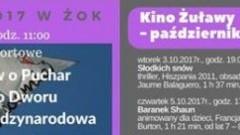 Nowy Dwór Gdański : Październik z Kinem Żuławy oraz Żuławskim Ośrodkiem Kultury! - 04.10.2017
