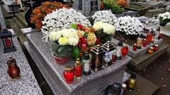 Uwaga! Zachowaj ostrożność na cmentarzu! - 24.10.2017