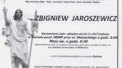 Zmarł Zbigniew Jaroszewicz. Żył 85 lat