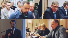 Budowa drogi S7 i służba zdrowia. Dyskusja była burzliwa. XXXVI Sesja Rady Powiatu Nowodworskiego - 03.11.2017
