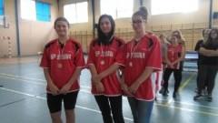 II miejsce drużyny z Gimnazjum w Stegnie na Mistrzostwach Powiatu w Tenisie Stołowym w Kmiecinie - 06.11.2017