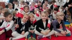 Uroczysty apel z okazji Dnia Niepodległości w Zespole Szkół w Tujsku - 10.11.2017