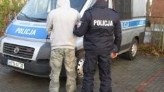 Pruszcz Gdański: Włamywacz w rękach policji. - 24.11.2017