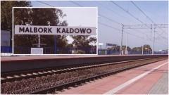 Malbork Kałdowo: Pijany wypadł z pociągu, gdy ten ruszył. Awaryjne hamowanie relacji Malbork-Gdańsk – 26.11.2017