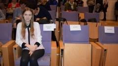 Nowy Dwór Gd.: ZS Nr 2 Stypendystka Prezesa Rady Ministrów Agnieszka Zgondek. Gratulacje! - 29.11.2017