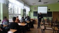 """ZS Nr 2 w Nowym Dworze Gdańskim: Zajęcia profilaktyczne pt """" Handel ludźmi """". - 05.12.2017"""