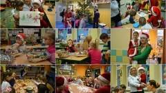 Mikołajki w szkole. Elfy, pierniki i mali Mikołaje w Marzęcinie. Zobacz wideo. - 06.12.2017