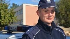 Młodszy asp. Piotr Doliński dzielnicowym w Gminie Stegna - 14.12.2017