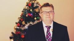 Michał Chrząszcz Wójt Gminy Ostaszewo składa życzenia świąteczno – noworoczne - 22.12.2017
