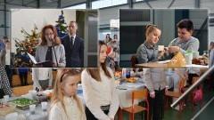 Wspólna Wigilia w szkole w Marzęcinie. - 23.12.2017